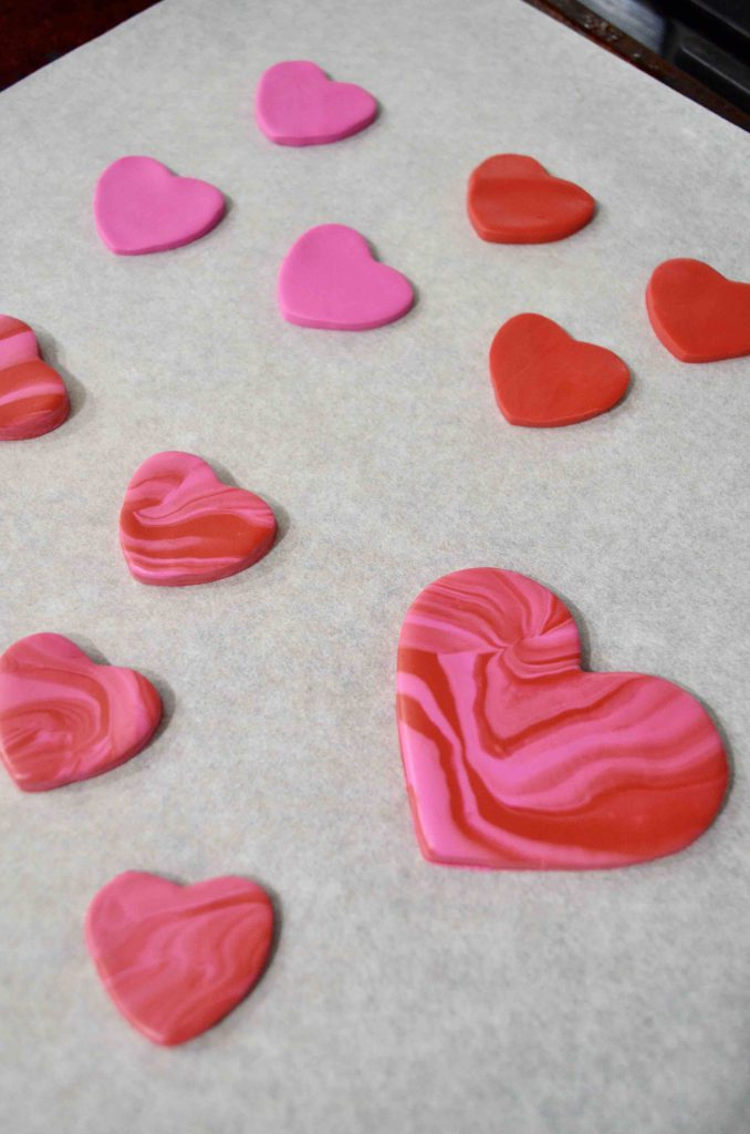 DIY Clay Heart Charms for Valentine's Day