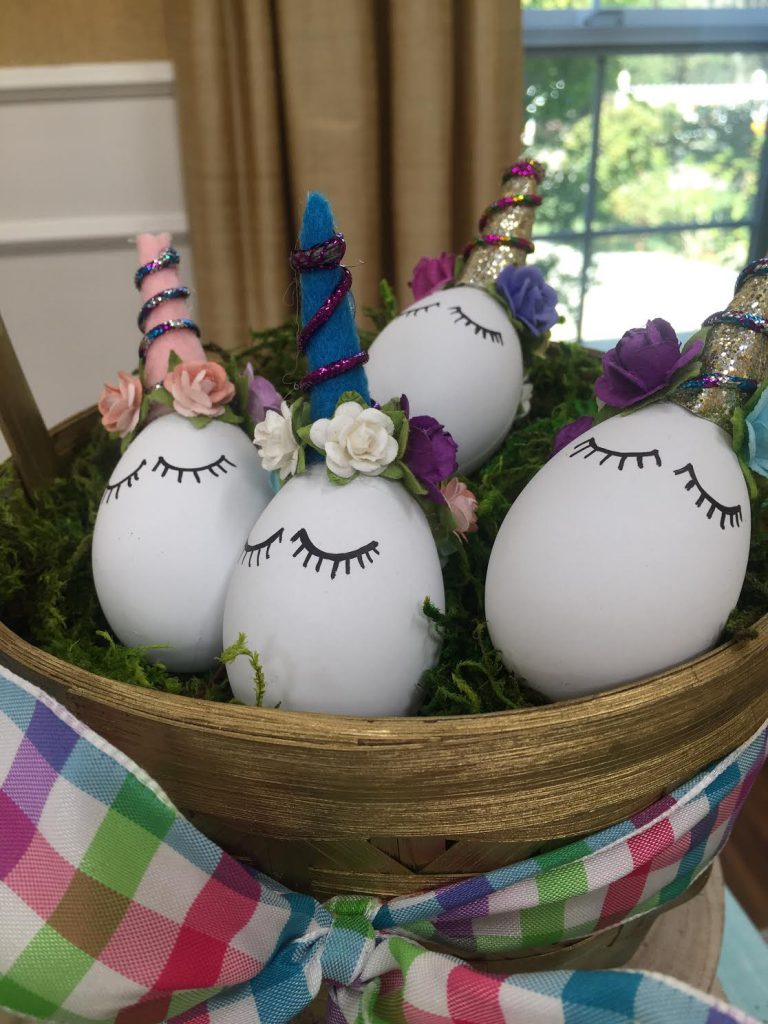DIY Trendy Easter Eggs on Hallmark's Home and Family Show