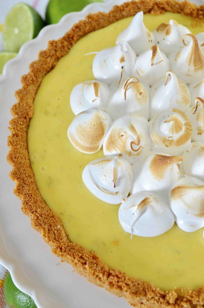Sour Cream Key Lime Pie