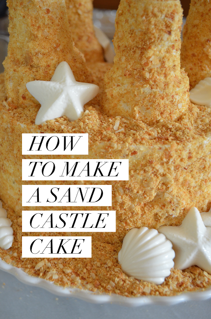 Sand Castle Cake on The Hallmark Channel's Home and Family