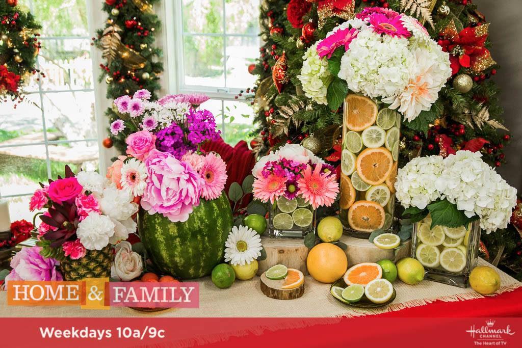 DIY Fruit Vases
