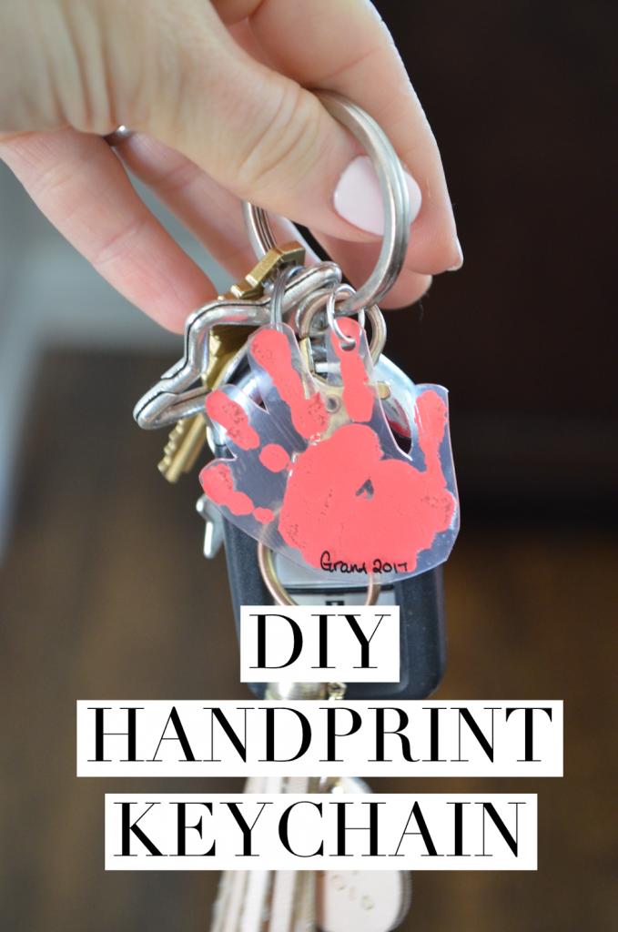 DIY Handprint Keychains