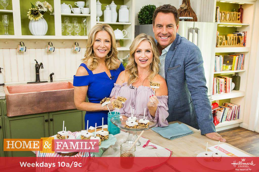 S'mores on a Stick on The Hallmark Channel's Home and Family