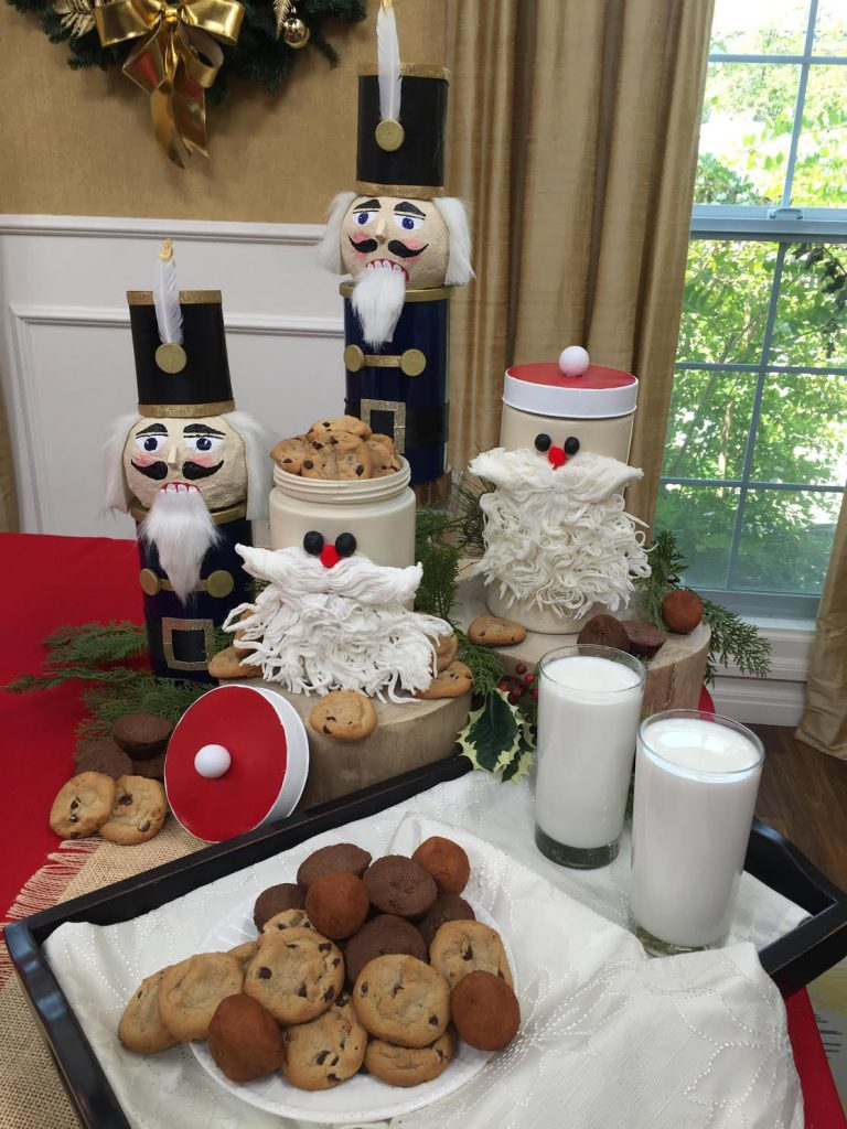 DIY Christmas Cookie Jars for Christmas in July on Hallmark's Home and Family Show
