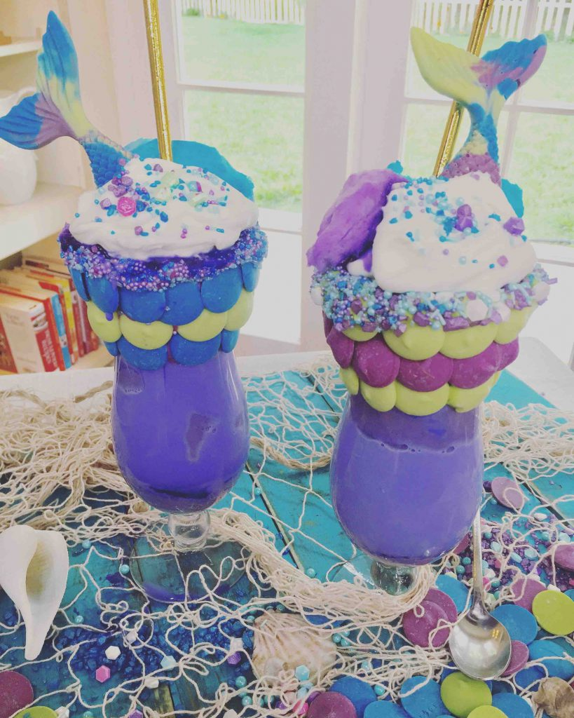 Mermaid Milkshake on Hallmark's Home and Family Show From Scratch with Maria Provenzano
