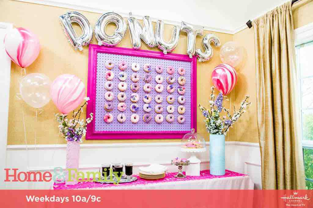 Baked Donuts and Donut Wall
