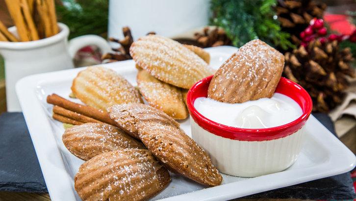 Hot Chocolate Madeleines