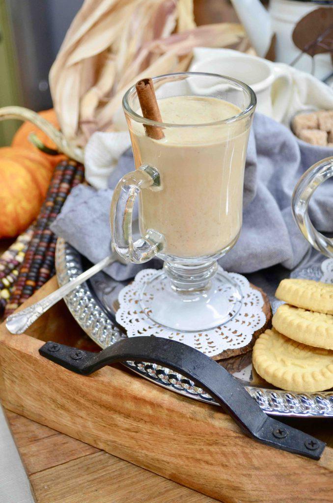 Homemade Crock Pot Pumpkin Spice Latte