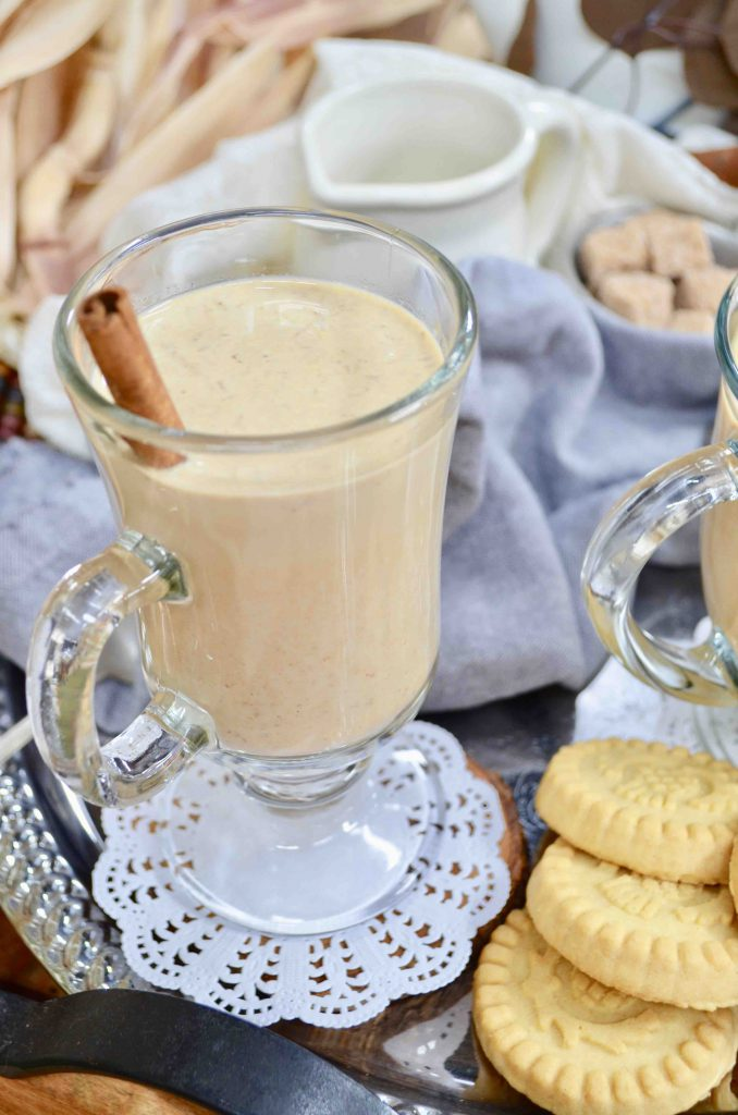Homemade Crock Pot Pumpkin Spice Latte