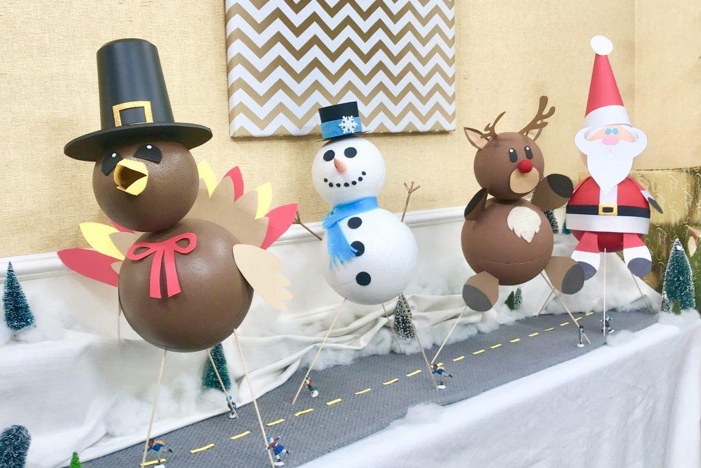DIY Thanksgiving Day Balloon Parade