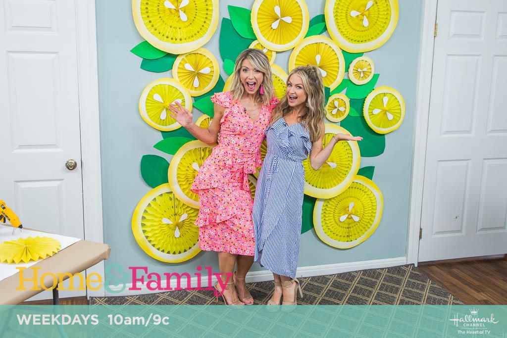 Lemon Photo Backdrop