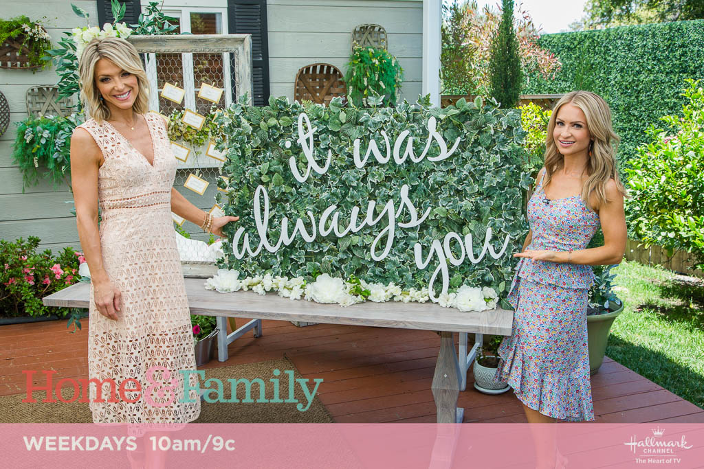 Maria Provenzano Home and Family June Weddings
