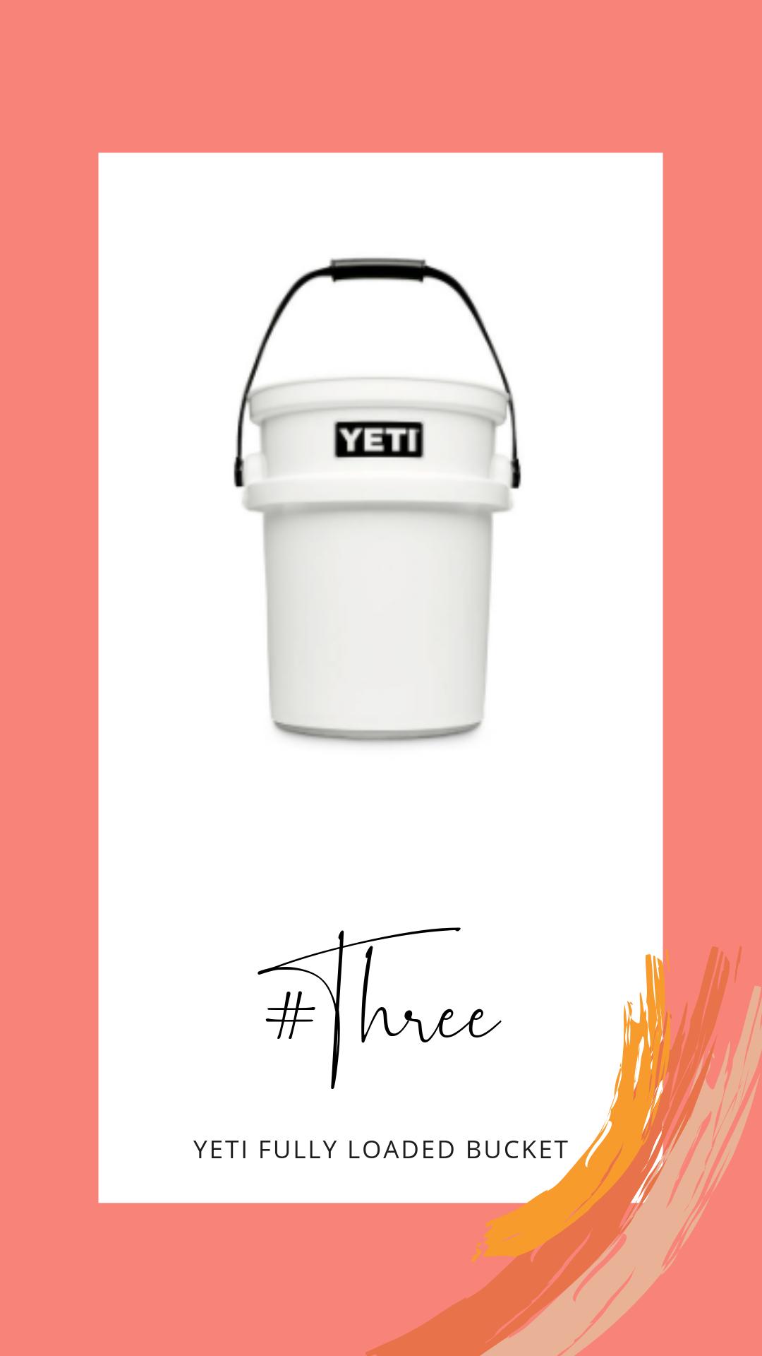 yeti bucket