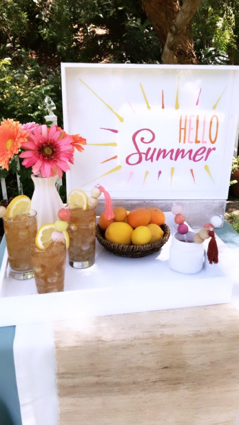 summer tray