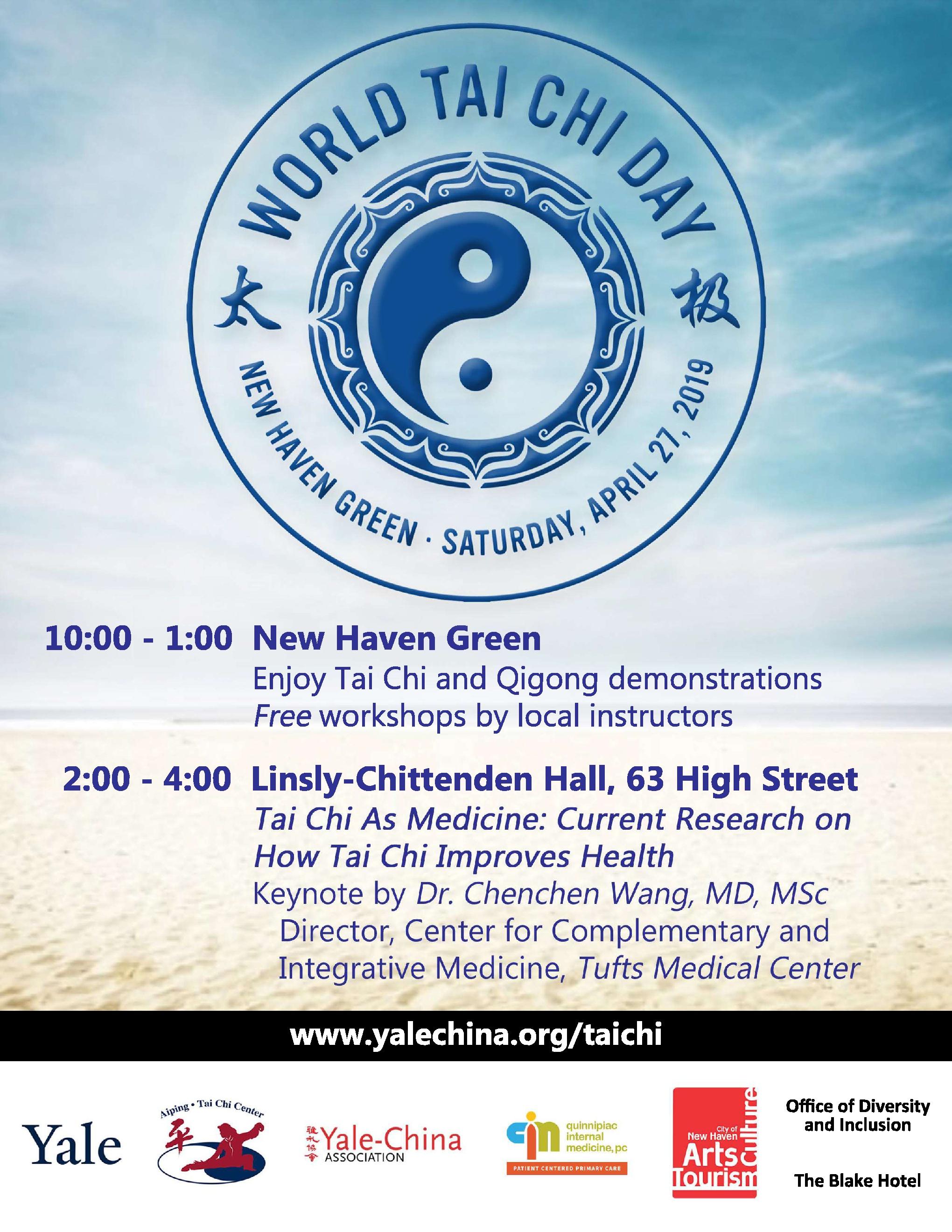 2019 Press — World Tai Chi Day