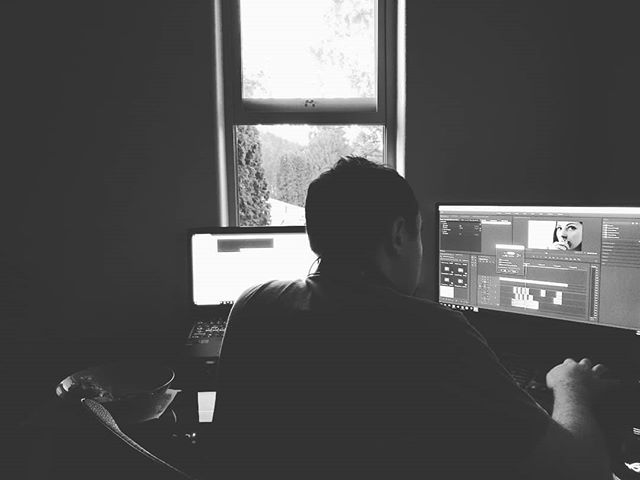 Working on the trailer sound mix with @tao_in_the_now. I'm so excited to share this on Friday.  #arbitriumfilm #mixing #sound #film #filmmaker #director #producer #writer #filmmaking #indie #indiefilm #indiedirector #indiefilmmakers #indiewriter #indiefilmmaking #independentfilm #editing
