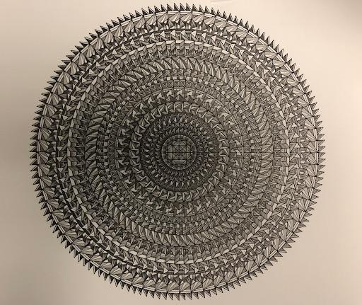 Artist: Eric Hare Work: (graphite on paper) CMC State Prison San Luis Obispo, CA
