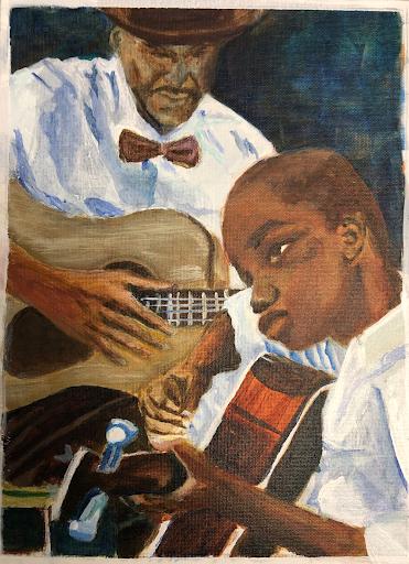 Artist: Ansar El Muhammad Work: My Inheritance San Quentin State Prison San Quentin, CA