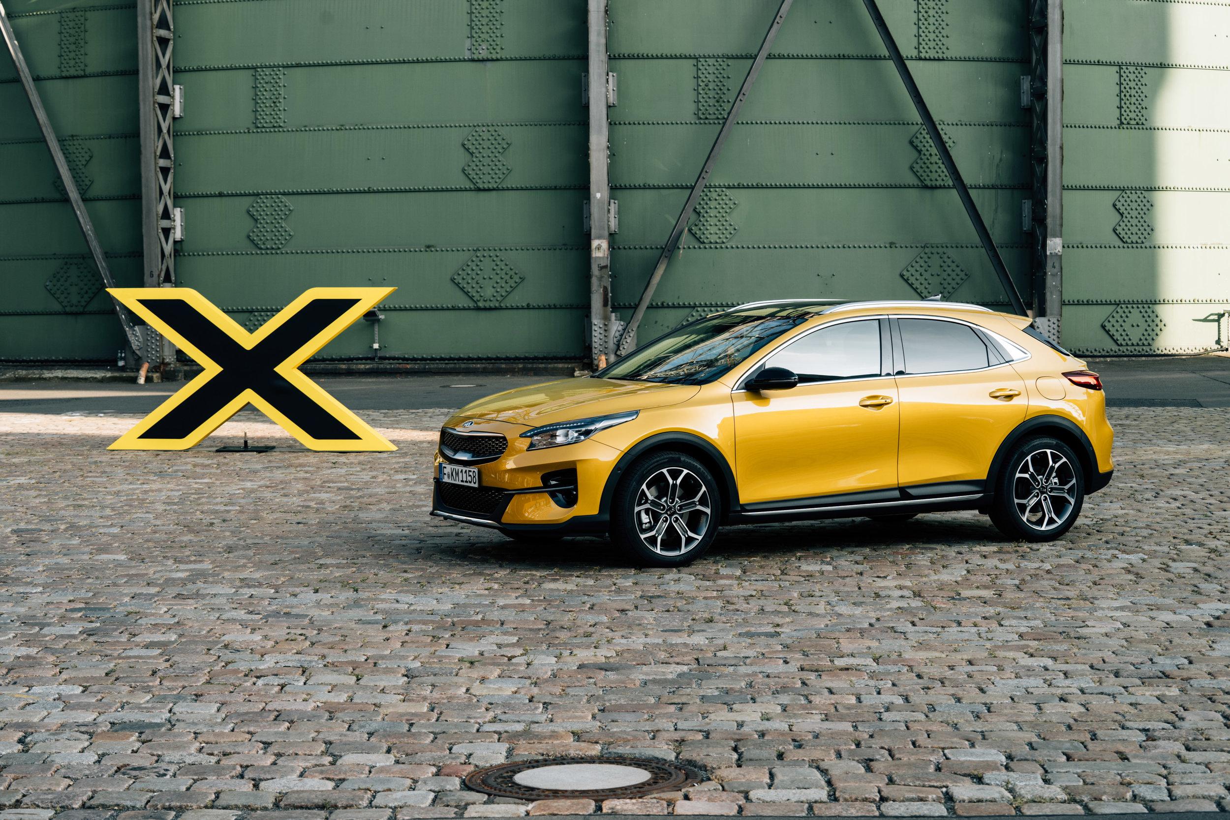Kia XCeed / Berlin - The new Kia XCeed in Berlin (Germany).