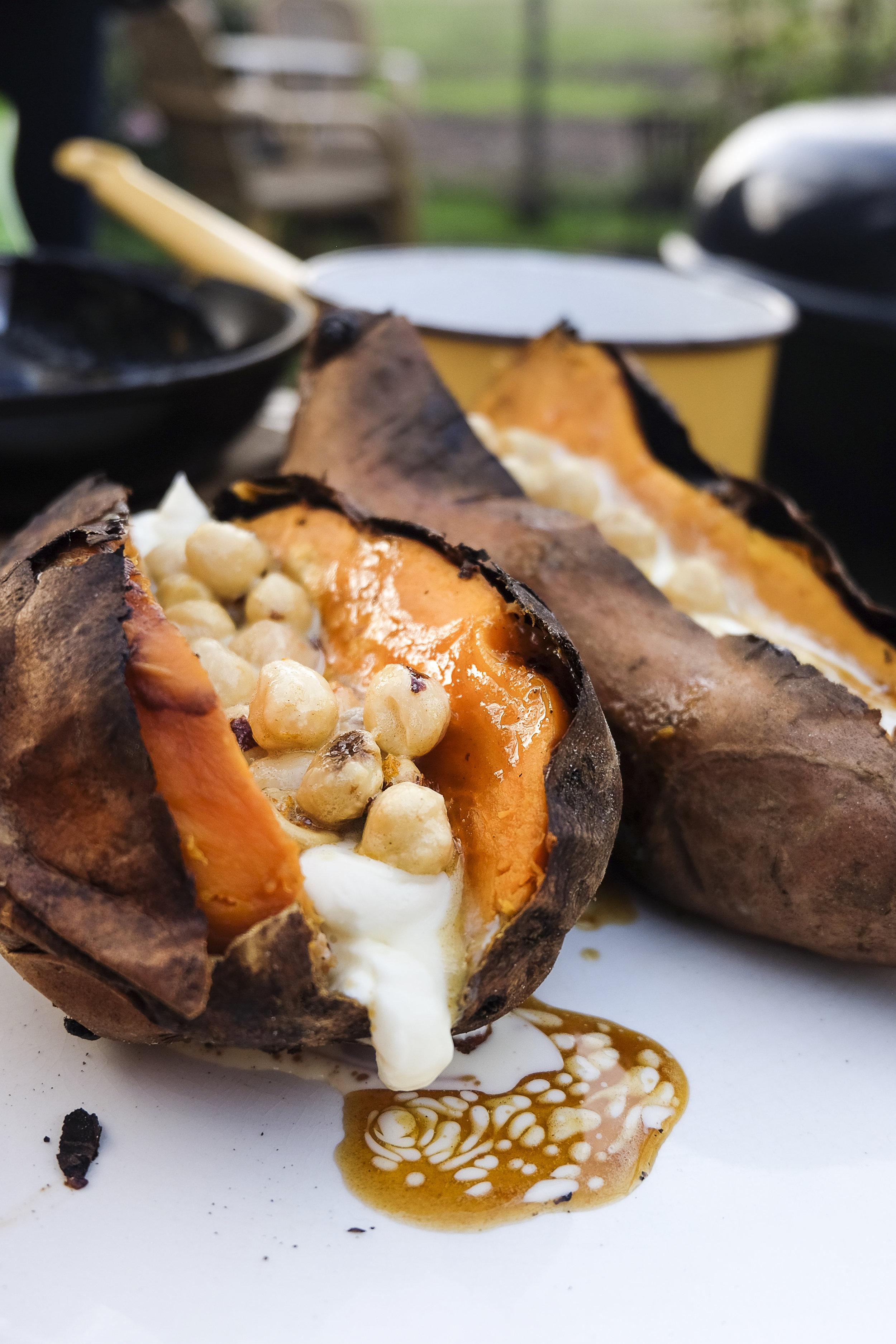 Zoete aardappel met bruine boter, mascarpone en sinaasappel.jpg