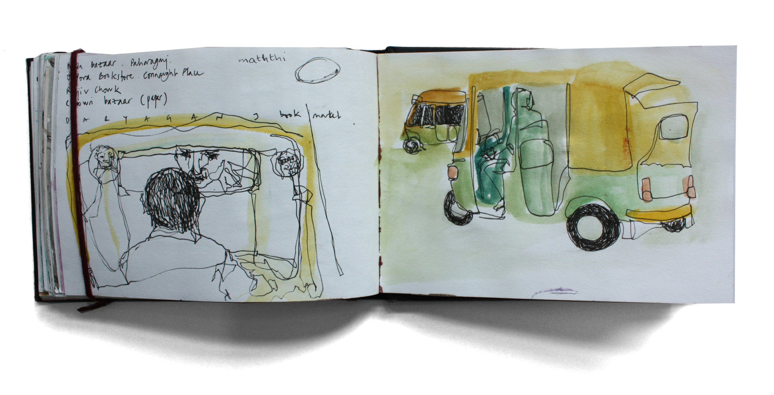 India Sketchbook I