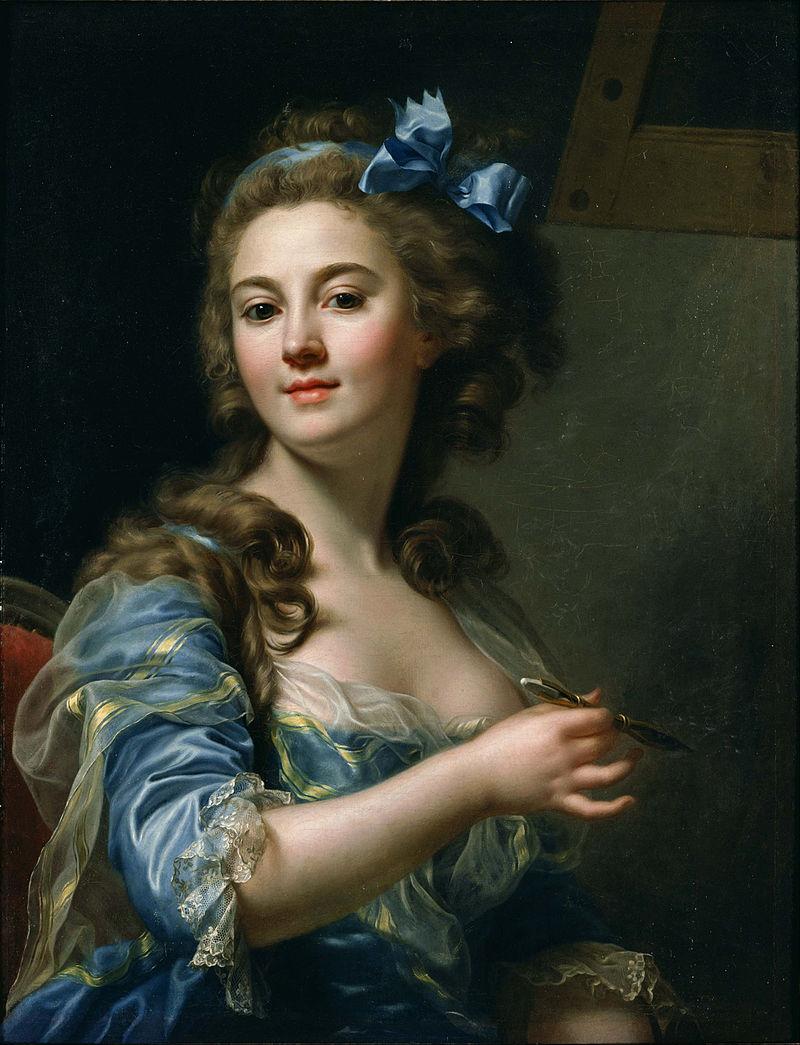 Marie-Gabrielle Capet, Self-Portrait, 1783