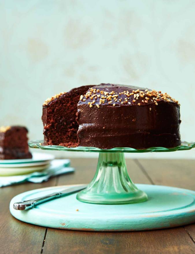 VEGAN CHOCOLATE CAKE - SAINSBURY'S