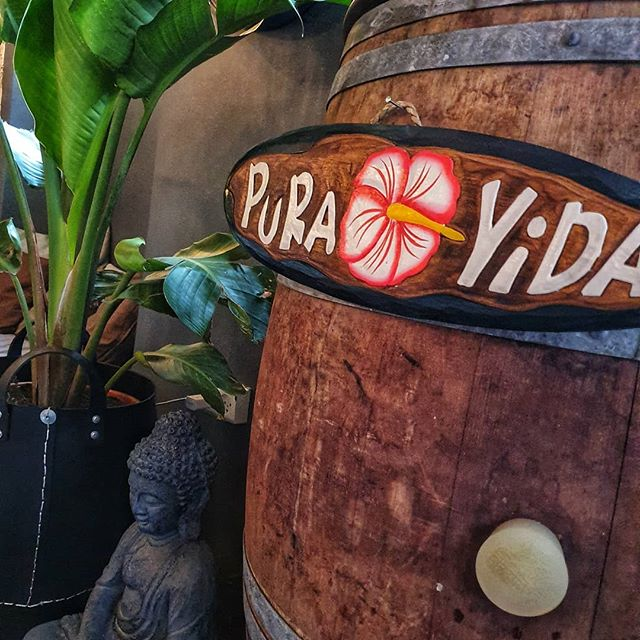 *PURA 🌺 VIDA* Good vibes only at The Reception 🤙🏽🌴 we welcome all people at our cozy cocktailbar and hope you feel at home🍹🌺 #thereception #cocktailbar #copenhagen  #bar #vesterbro #puravida #goodvibesonly
