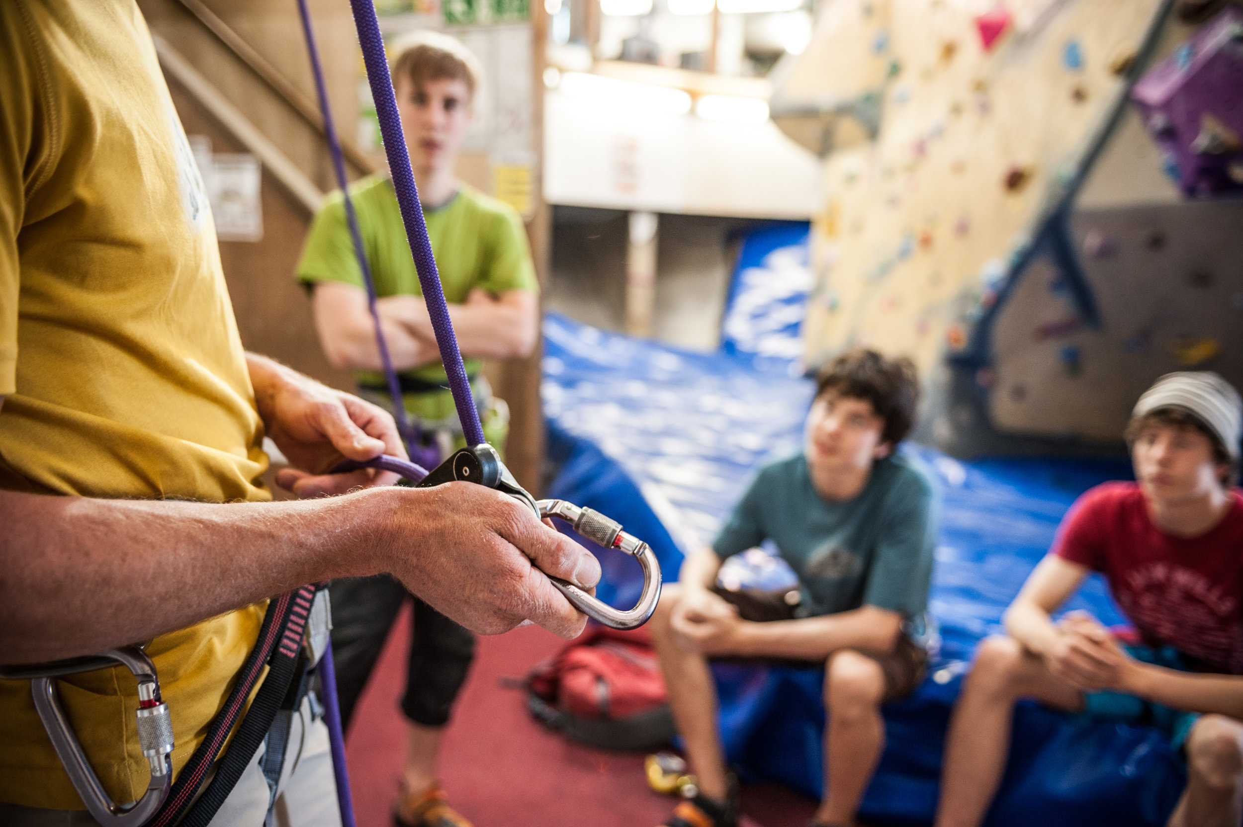 Taster Session & Partys - This course is ideal for people who have no climbing experience, designed to be a fun session for the absolute beginner.