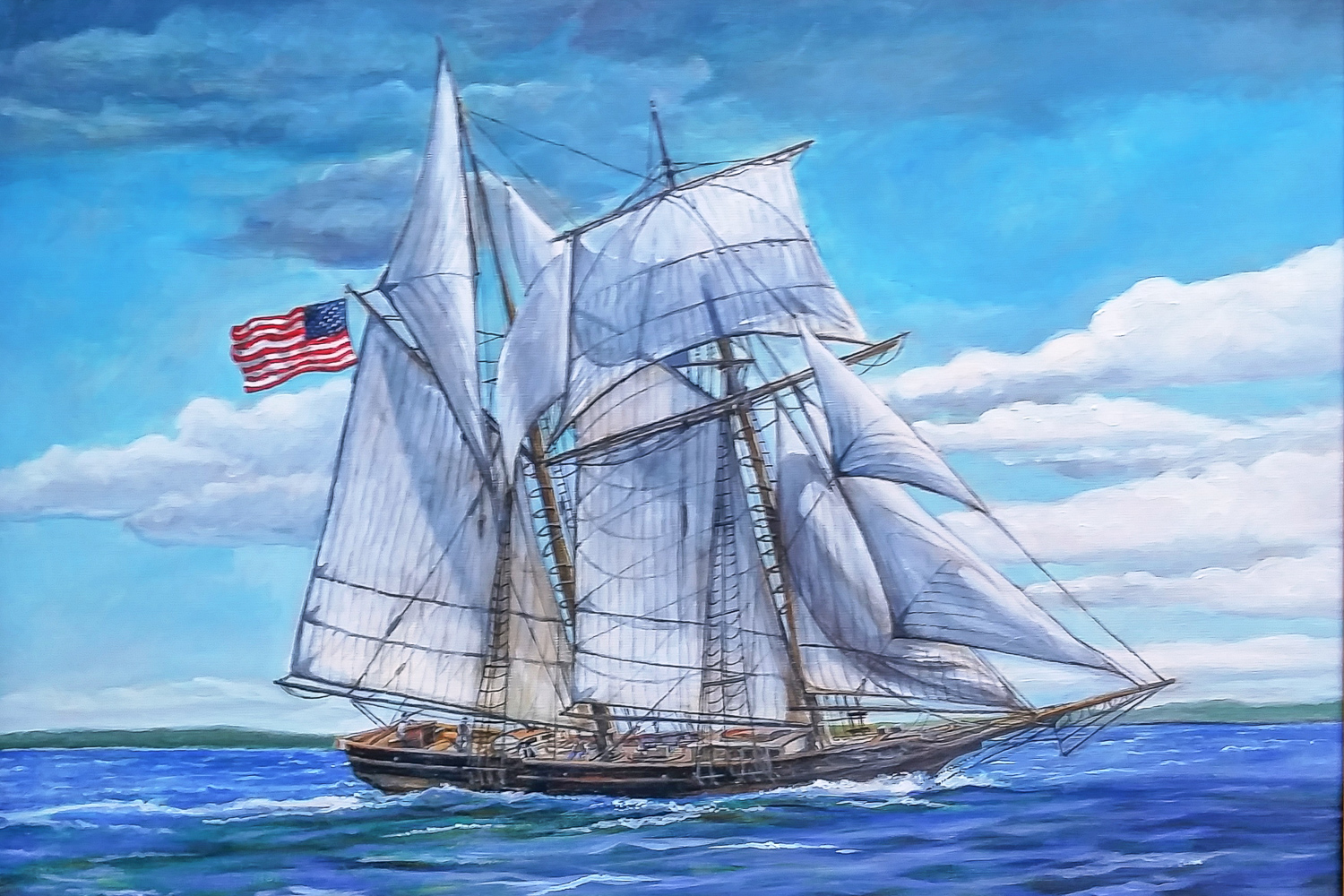 The  Alice Craig  - artist's rendition by Robert R Holton