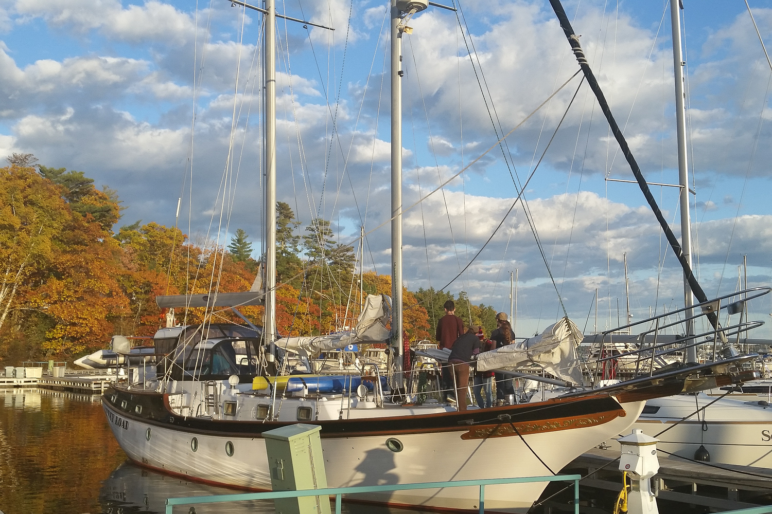 Our Challenge - The 52' Abbey Road is an excellent platform for small groups and we will continue sailing her into the foreseeable future. However, we would like to take more kids sailing on Lake Superior and we are not able to do this with the Abbey Road alone.