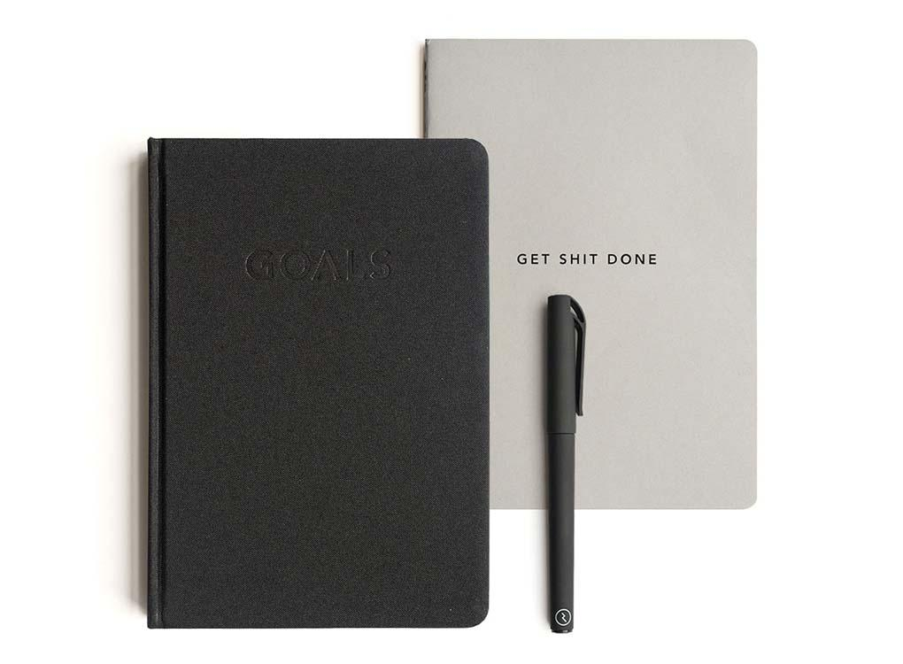 MOXON London GOALS JOURNAL - With space for ten short, six medium and four long-term goals, the Goals Journal makes success manageable, trackable and achievable.