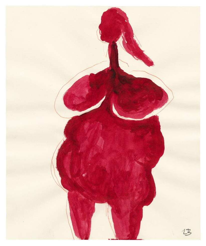 Drawing by Louise Bourgeois