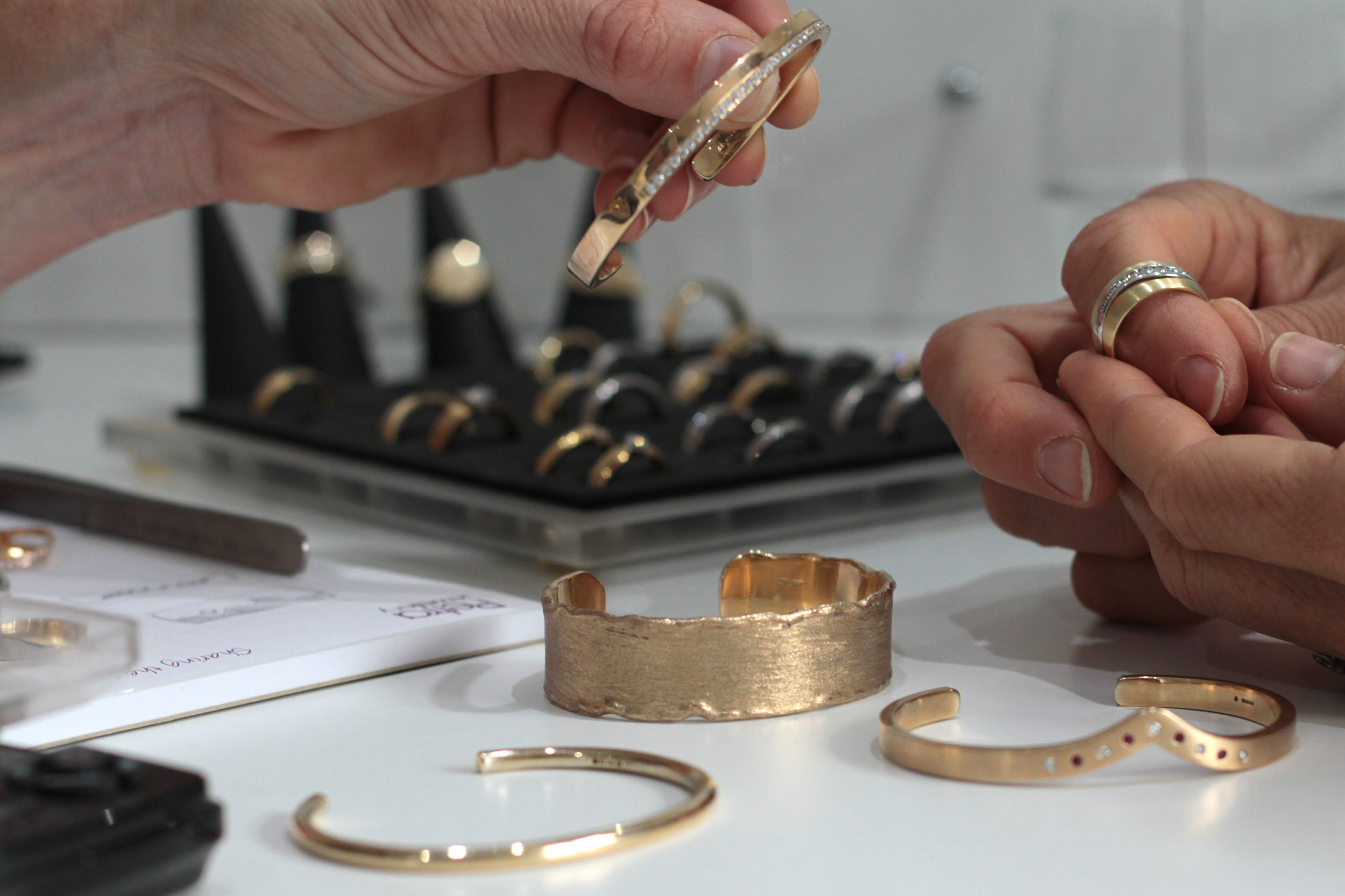 Commissions - When it comes to making bespoke jewellery there isn't much our expert team can't make for you!