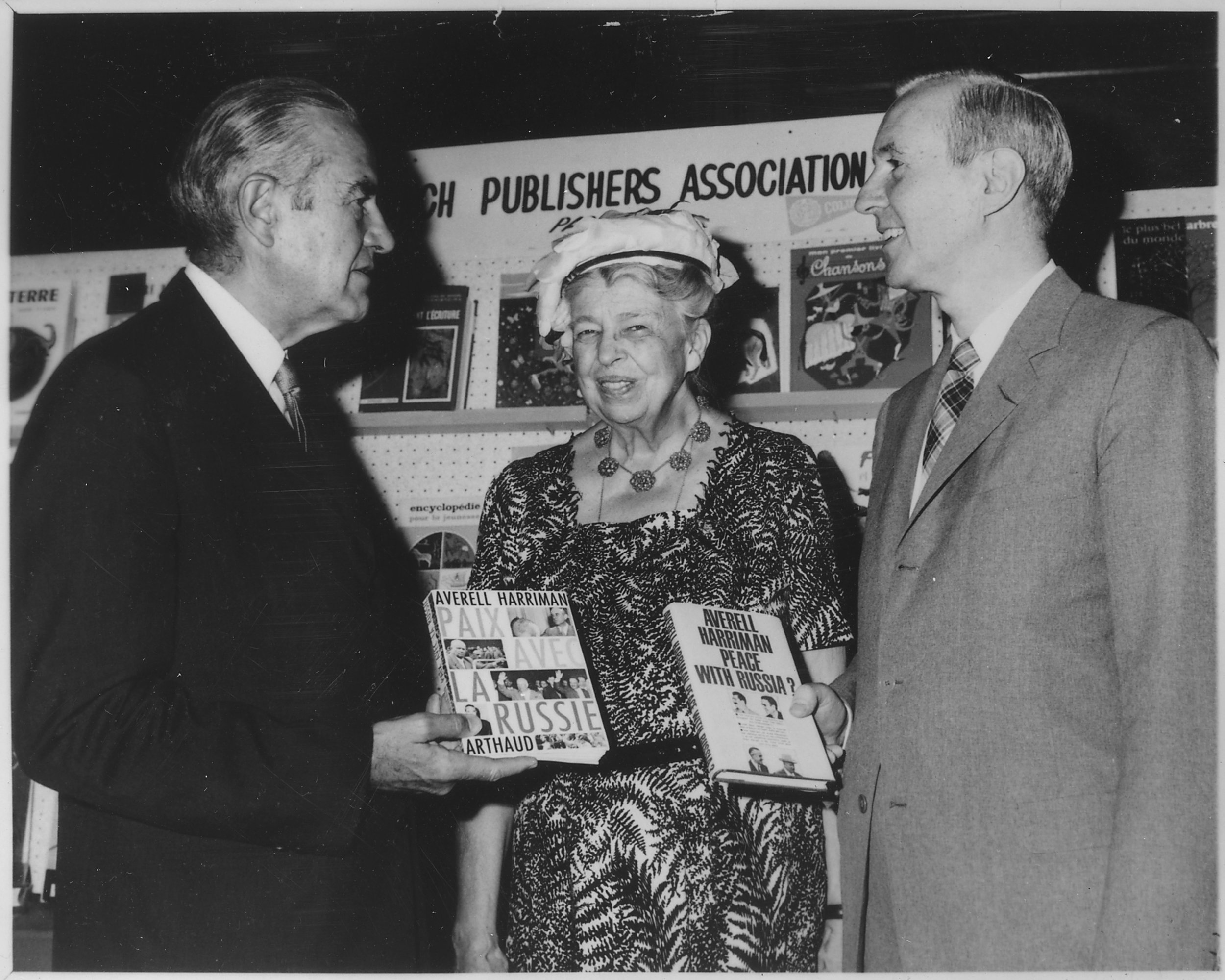 Eleanor Roosevelt and Averell Harriman in New York City.jpg