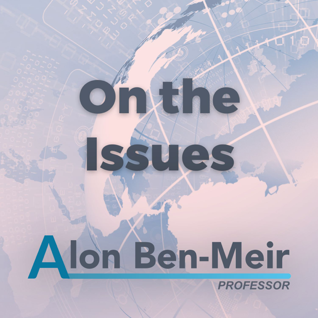 on the issues alon ben-meir professor podcast with cooley.png