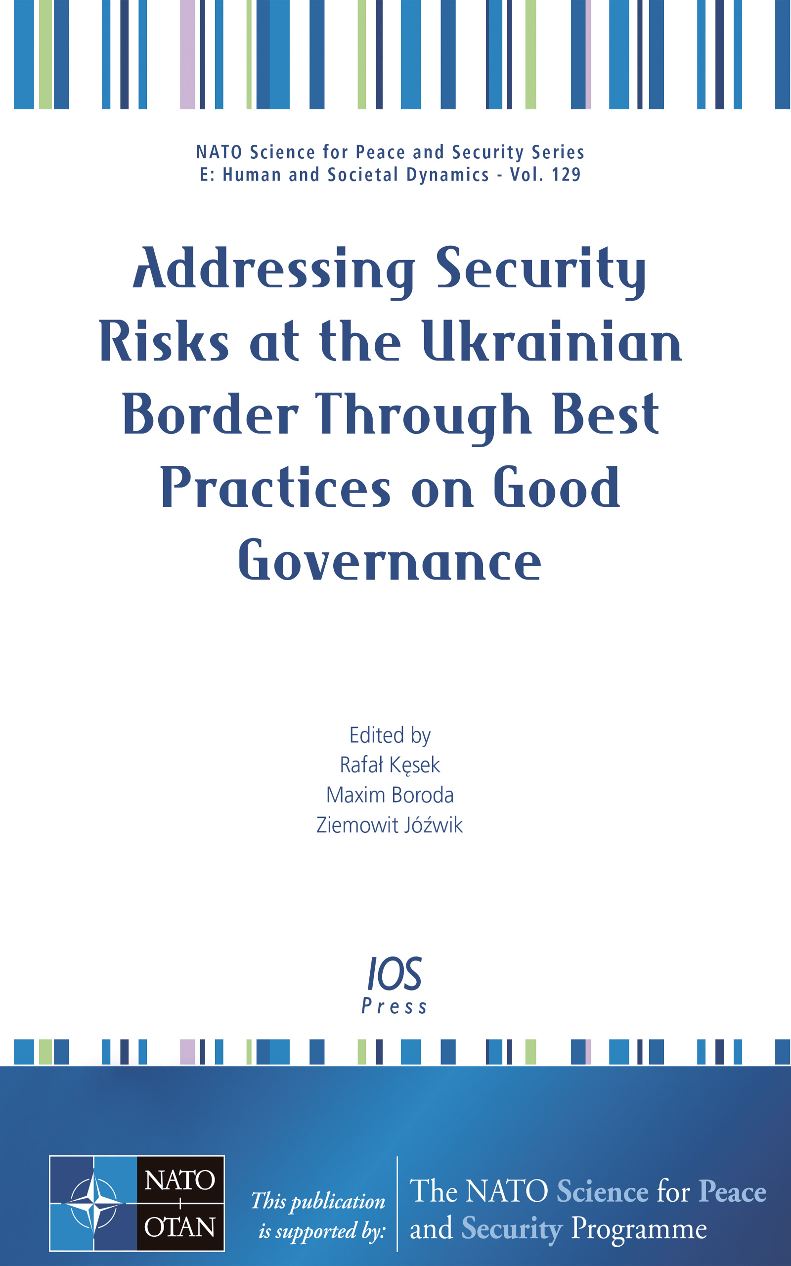 book cover_addressing security risks at the ukrainian border through best practices on good governance.jpg