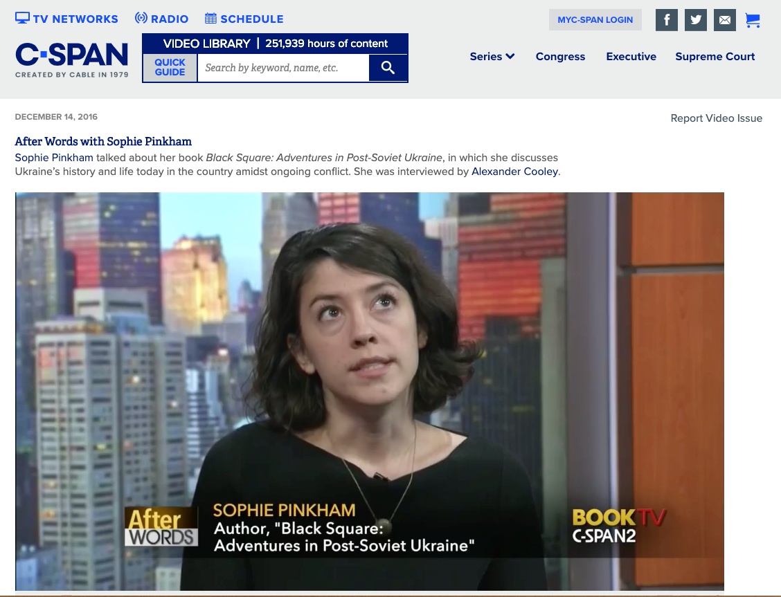2016.12.14 CSPAN interview with Sophie Pinkham.png