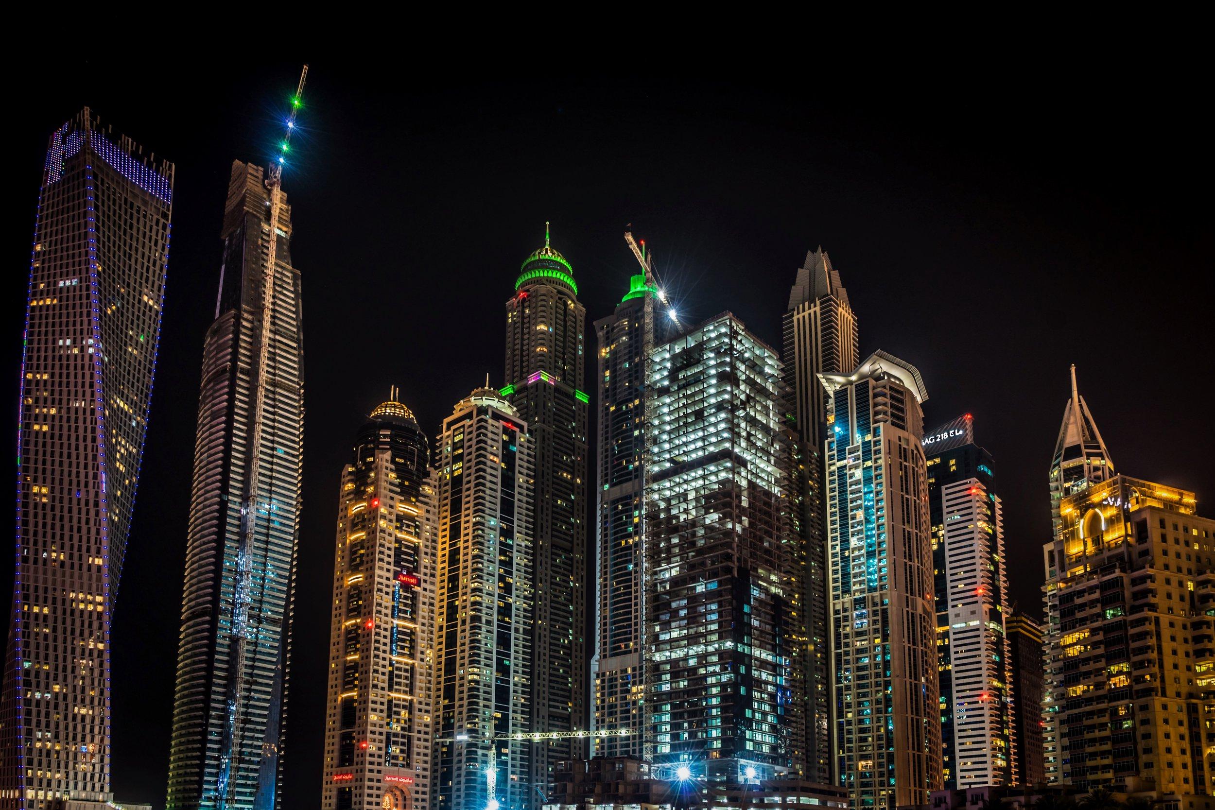 Dubai Marina — Photo by ©  Frank Da Silva