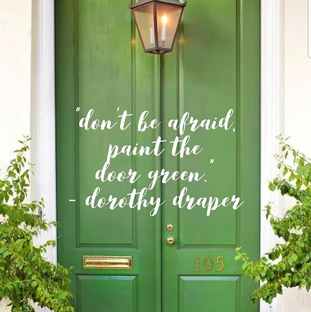 Sometimes a green front door is just the thing a house needs to go from average to amazing! Swipe to see another gorgeous green door from @yellowprairieinteriors . It is painted Arugula from Sherwin Williams 💚 . . . . #frontdoors #greendoors #exteriorpaint #grassgreen #coastalliving #colorconsultant #colorinspiration #sullivansislandsc #lowcountrylife #mountpleasantsc