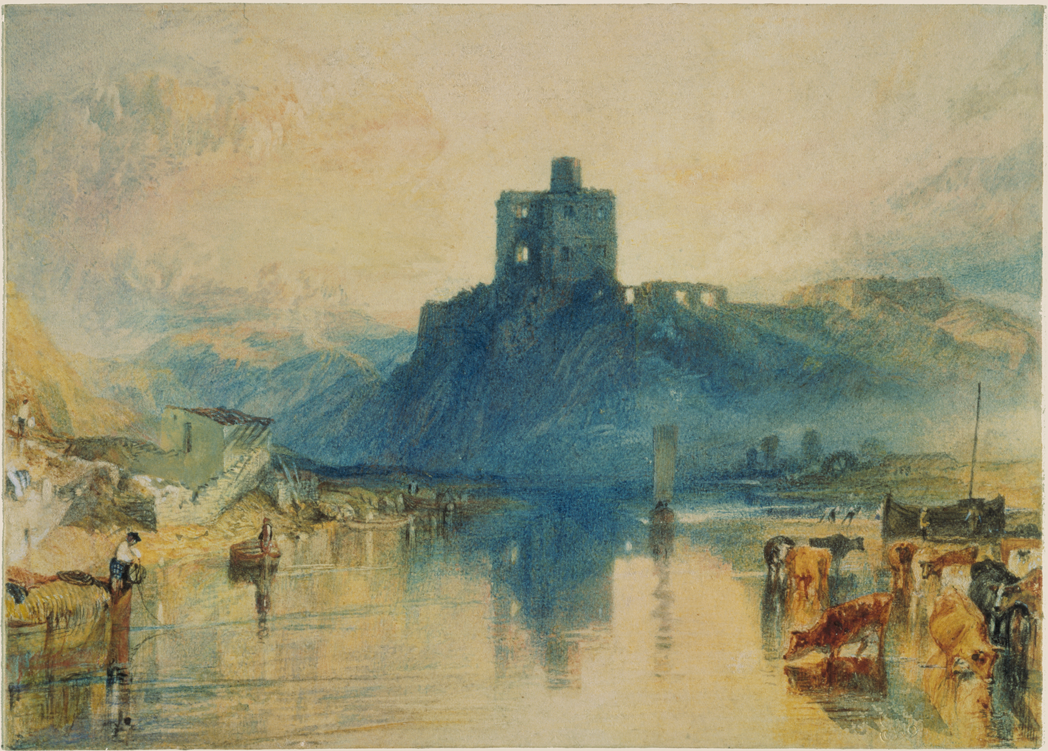 Norham Castle, on the River Tweed. c1822-3. Turner, Joseph Mallord William 1775-1851. Tate. Accepted by the nation as part of the Turner Bequest 1856. (c) Tate, London 2019