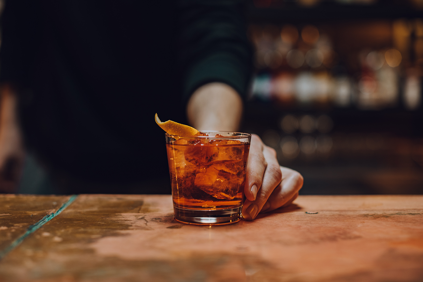 Meet the Negroni.A perfect concoction of gin, sweet vermouth, and Campari. - Origin: Florence, Italy // 1919