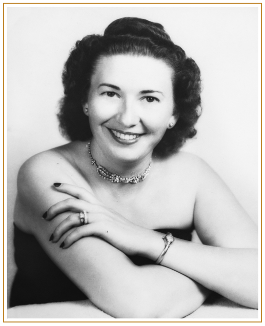 Old photo of Maxine Miller