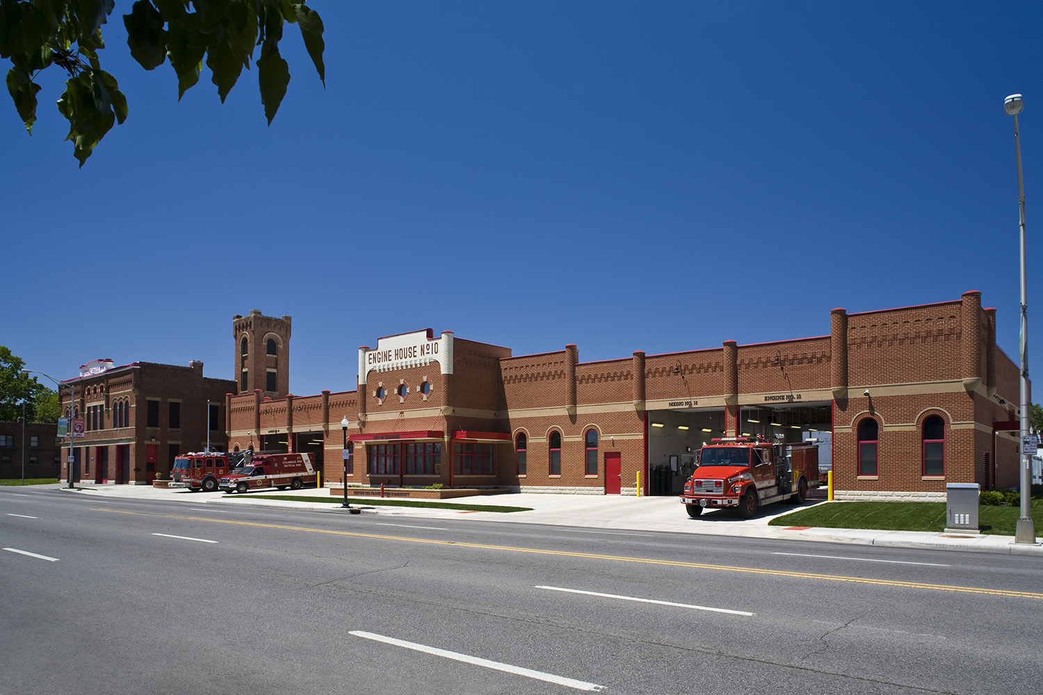 The Historic and New Fire Stations No. 10  •  LEED Gold