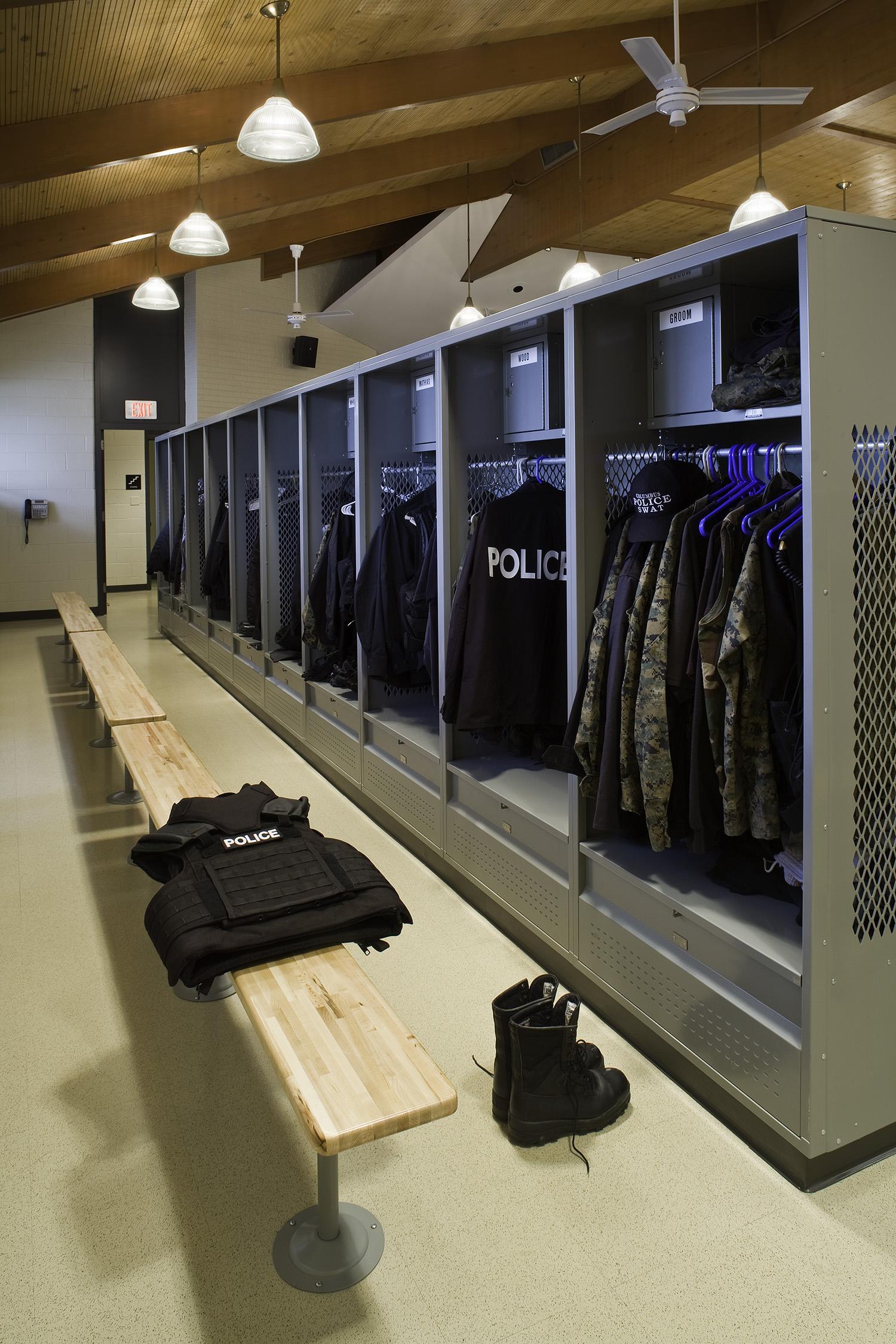Officer Gear Lockers