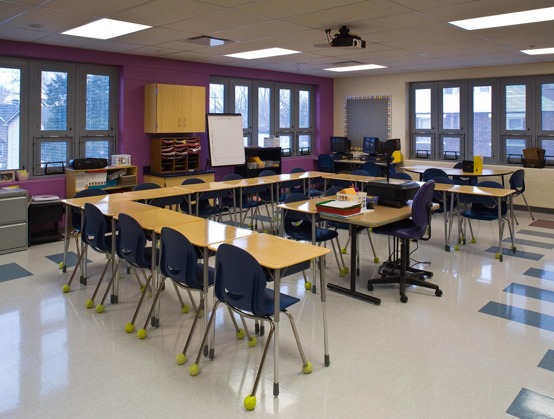 Corner Classroom