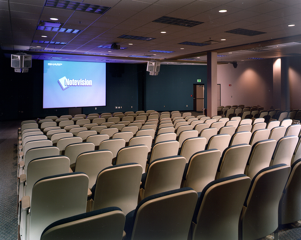 Tiered Multi-Media Lecture Hall