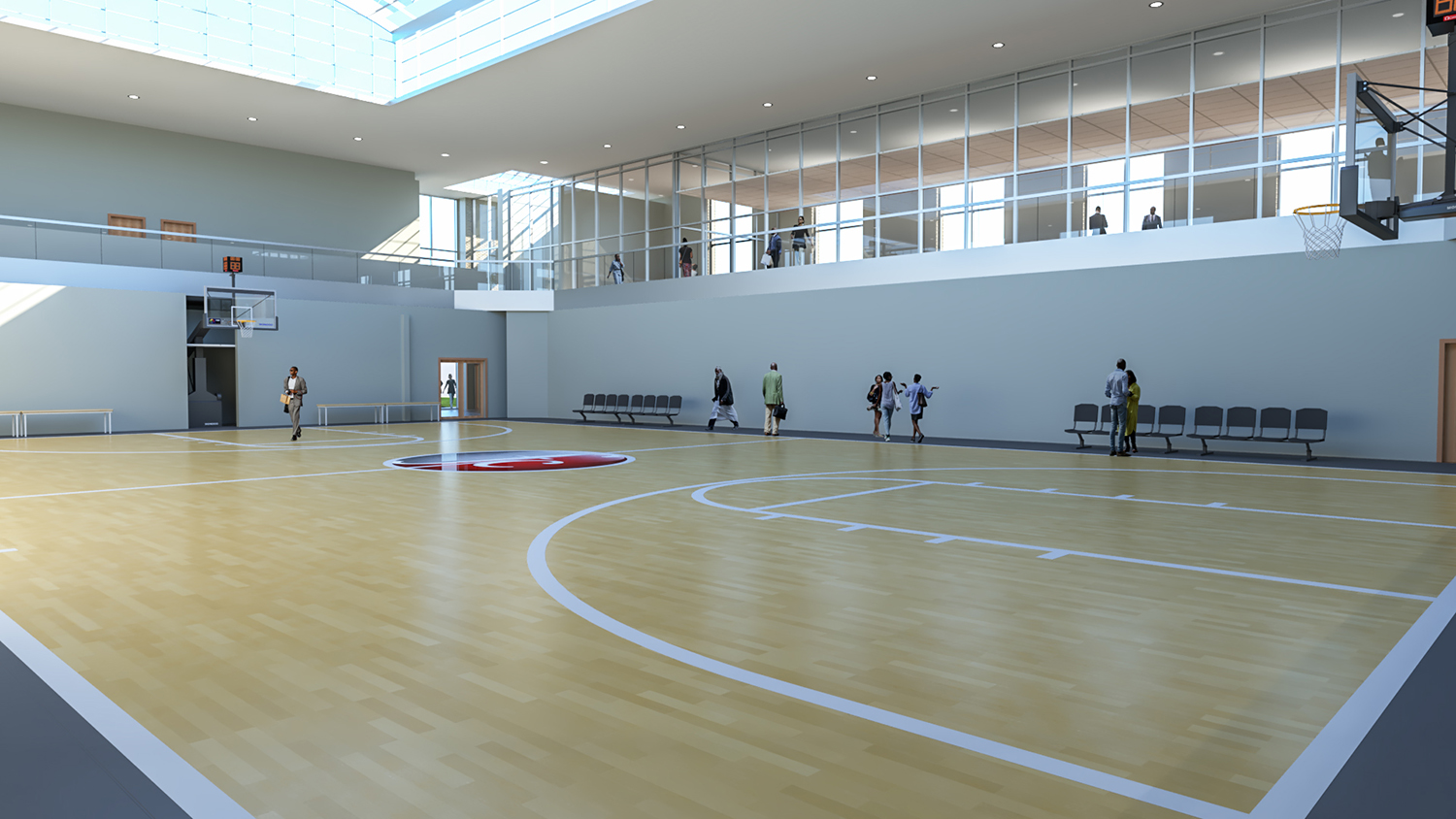 Multipurpose Assembly / Competition Court