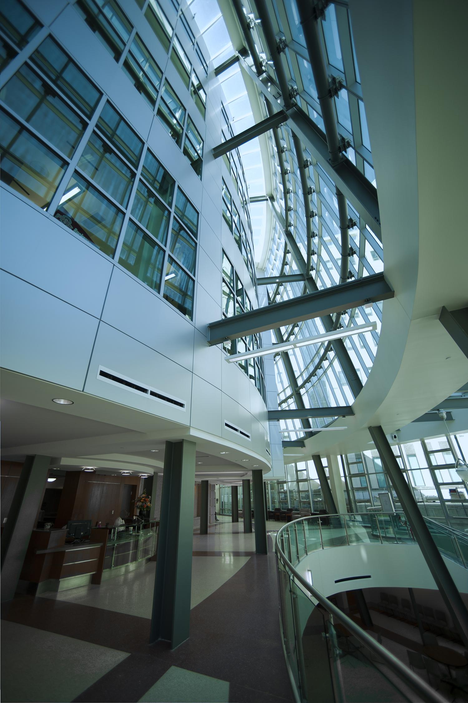 Public Entry Atrium Galleria