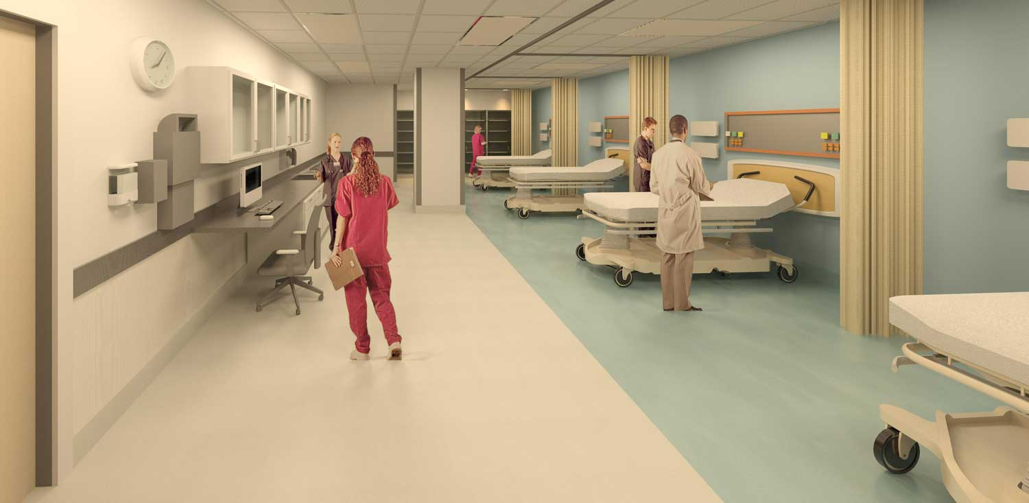 Interventional Radiology Prep / Recovery Room